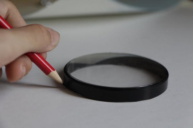 PVC-Rohr-Clock