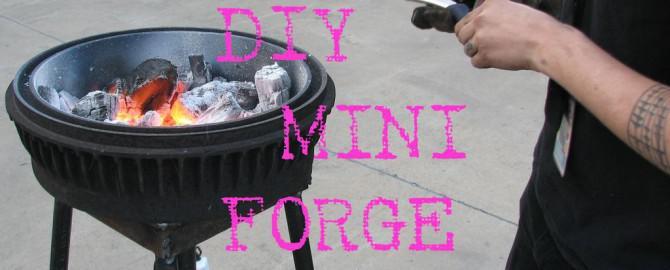 DIY Mini Forge