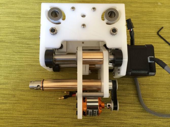 Machen Sie eine CNC-Fräse mit einem Laserschneider