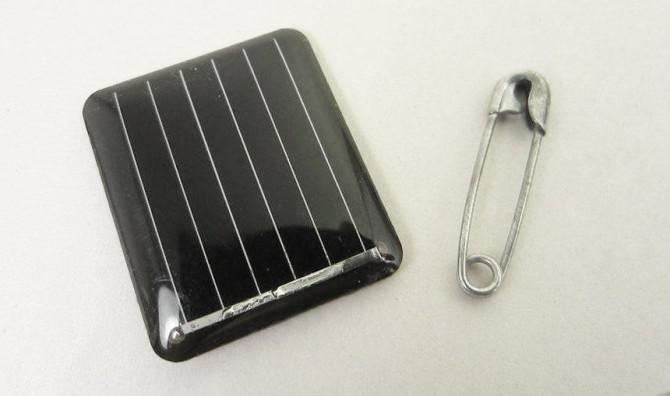 Der Solar-Power Pin