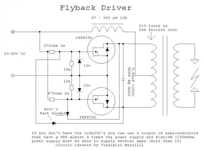 Wie man eine einfache, aber leistungsfähige Flyback-Treiber