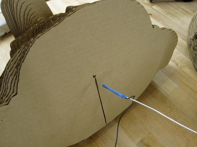 Drehen Sie den Kopf in Karton Lautsprecher mit 123D fangen + MeshMixer + 123D Make + Laser Cutter!