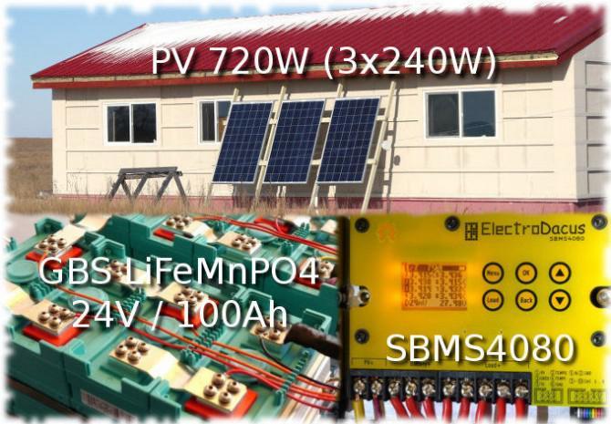 Niedrige Kosten Offgrid Solarenergie.