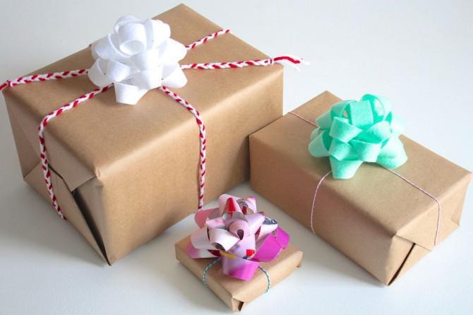 Wie man ein Geschenk Bogen machen