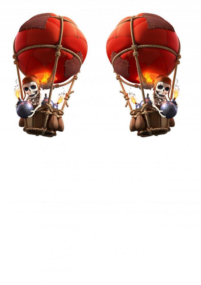 RC Balloon Bomber vom Kampf der Clans