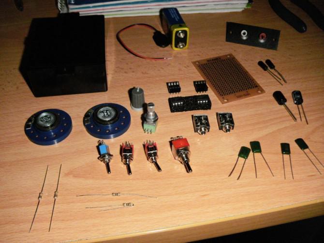 Taschen-Stereo-Verstärker