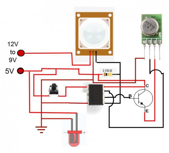 Günstige Wireless Motion Sensor Geräte