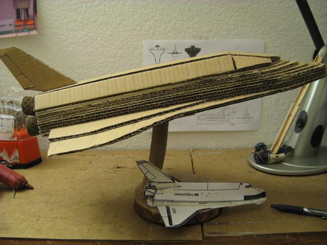 A Space Shuttle