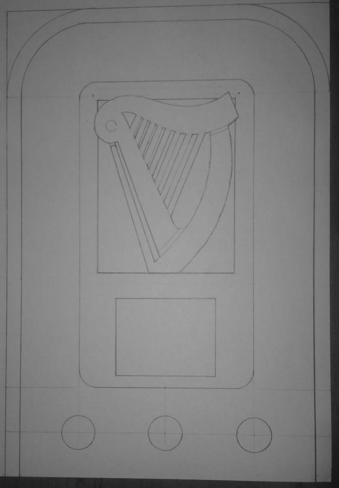 Guinness Themed MP3-Radio