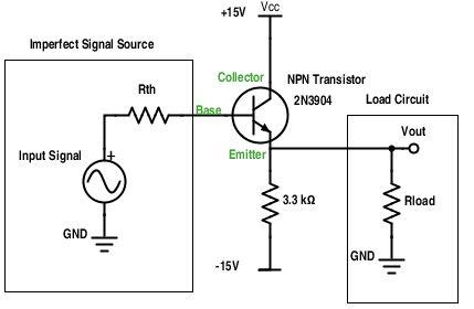 Das Verständnis Emitter-Anhänger: unter Verwendung von Transistoren, um Sag reduzieren