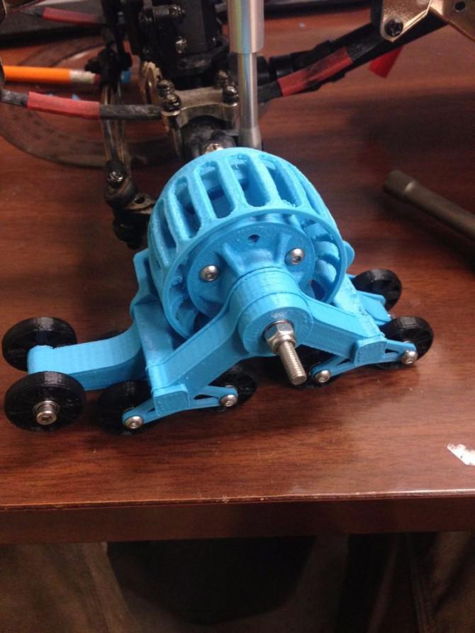 3D Printed MatTracks für RC-Car in 1:10