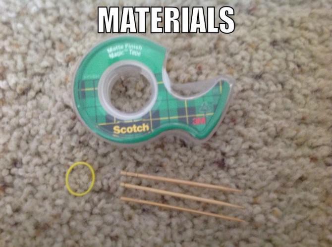 Wie man eine einfache Pfeil und Bogen machen