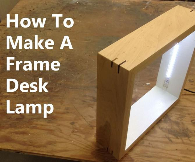 Bilderrahmen Desk Lamp