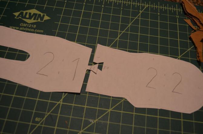 Karton Sphinx Hatschepsut - 123D Make [Hand geschnitten]
