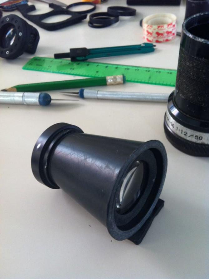 IPhone Homemade Teleobjektiv