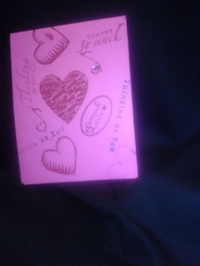 Teen Romance Karte Party-