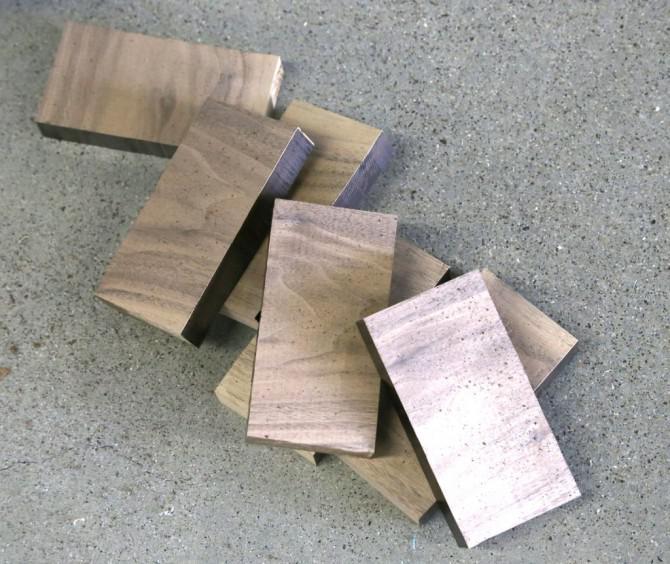 Holz-Teppich
