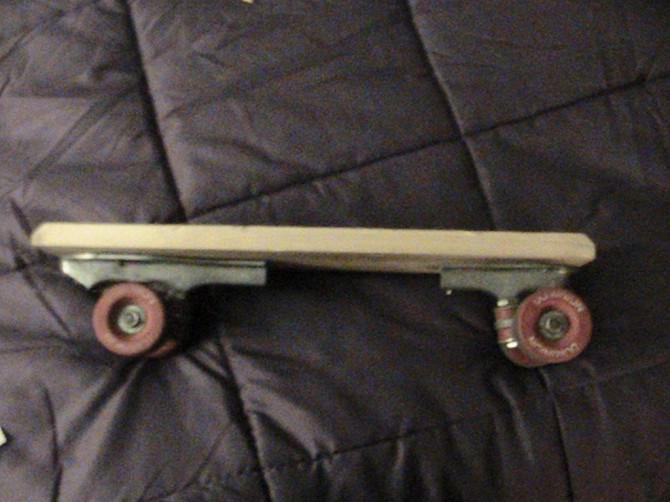 Wie man ein Skateboard für unter 10 Dollar zu machen!