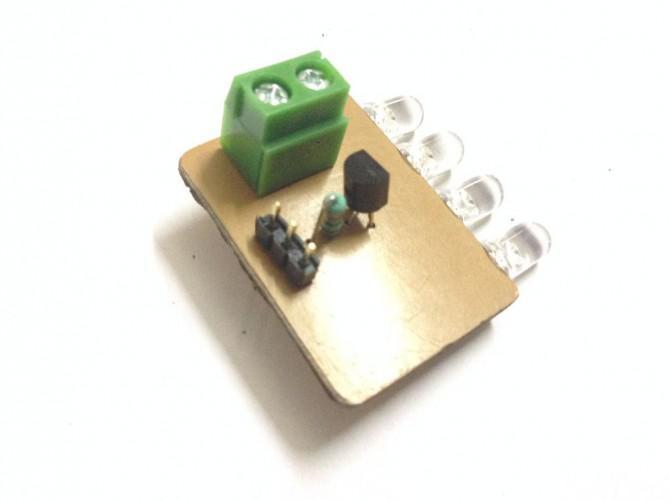 Wie man eine einfache Motion Sensor LED-Licht (Revisited) (PIR) Stellen