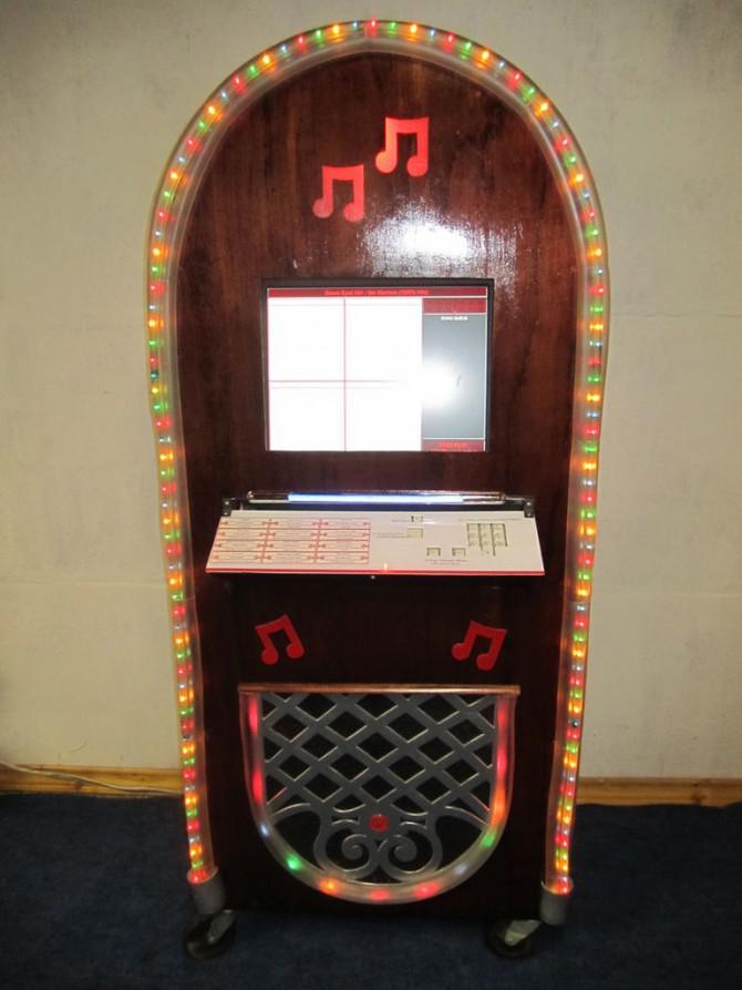 Kickin 'Kiosk, Mp3 Jukebox