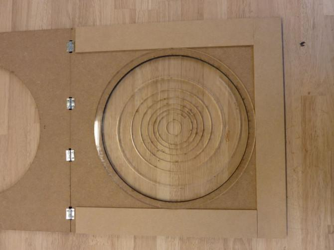 Plexiglas bender und Plexiglas-Lampe