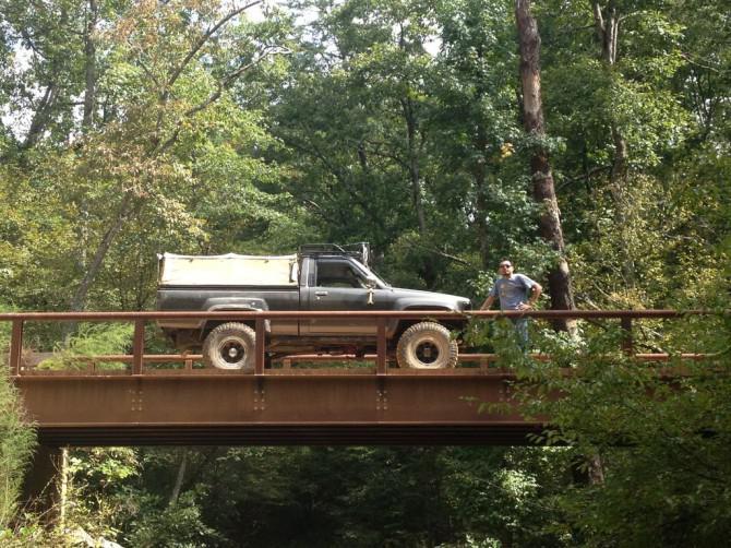 Aufbau meiner primitive Camping LKW