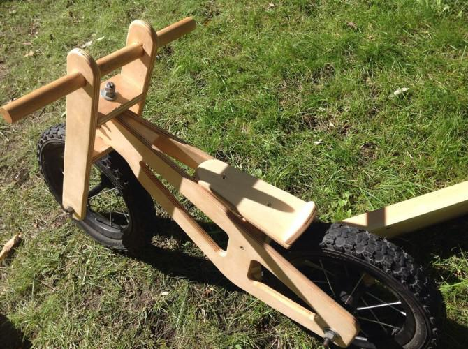 Holz-Laufrad