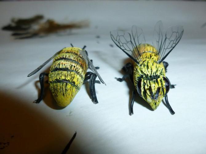 Beard von Bienen-Kostüm