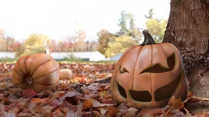 Halloweenlaterne