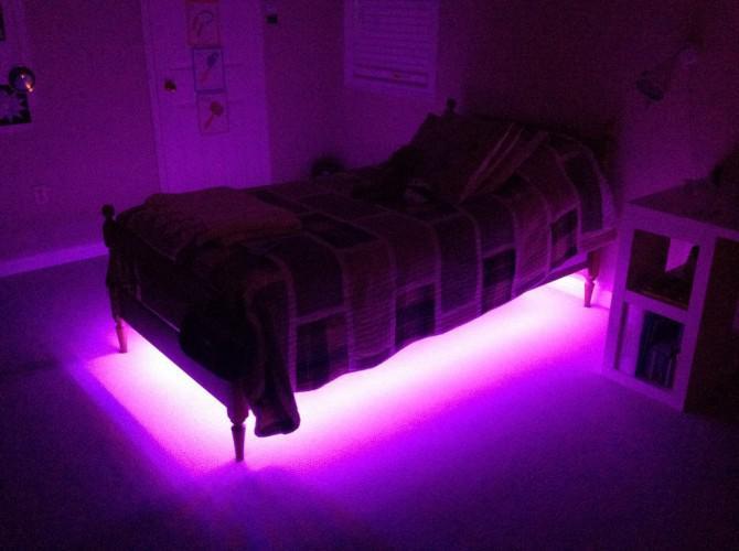 Geben Sie Ihre Bed Underglow!