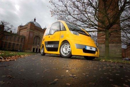 Erneuerbare Energien an die Macht Fahrzeugmotor