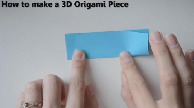 How to Fold Pieces Faster Tutorial - 3D Origami Basics - YouTube | 375x670