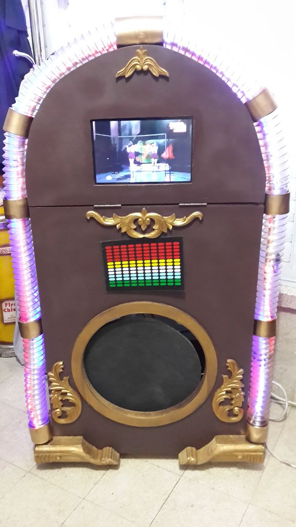DIY Disco-Karaoke Jukebox