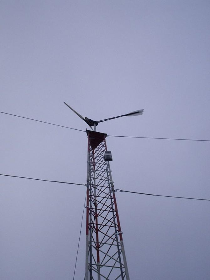 7 Fuß Axial Flux Wind Turbine
