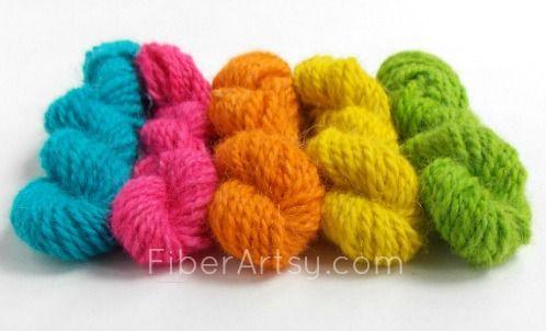 How-to-Garn mit Easter Egg Dye Farben