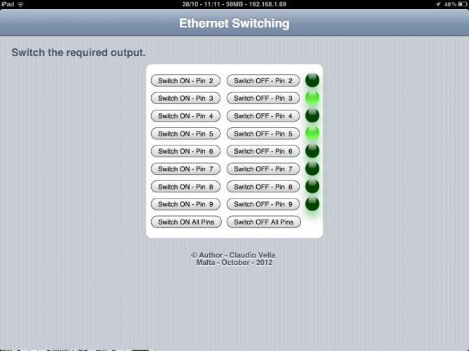 Ethernet Switching - mit Arduino