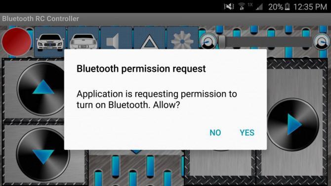 Bluetooth Kontrollierte Arduino Dual-Motor RC Platform