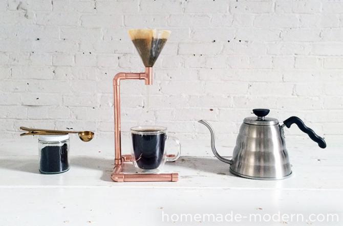 Homemade Moderne Diy Kupfer Kaffeemaschine