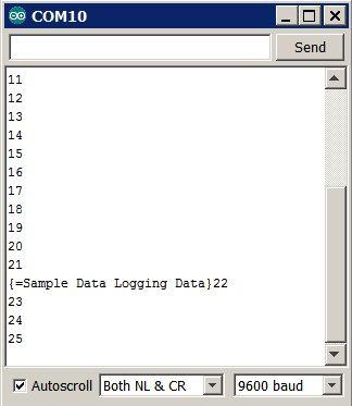 Einfache Mobile Data Logging mit pfodApp, Android und Arduino