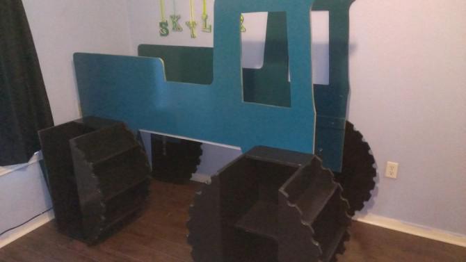 Kinder Monster Truck Hochbett