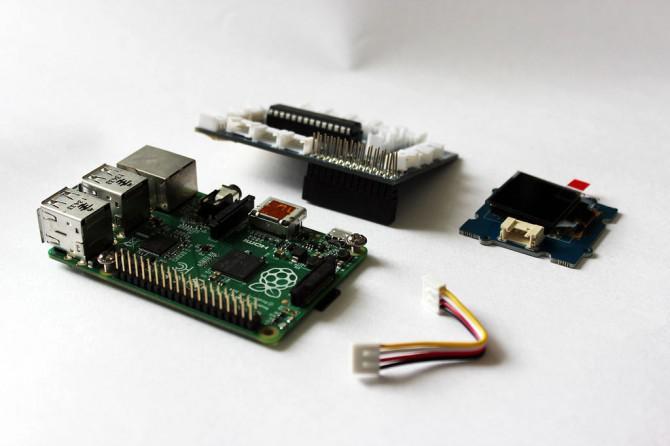 Fügen Sie einen $ 15-Bildschirms an den Raspberry Pi