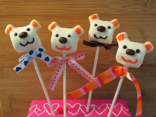 Wie man ein Valentine Eibisch Bär Pop machen