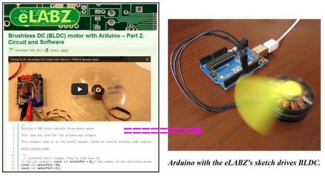 Die Erstellung einer DIY Brushless Gimbal mit Arduino