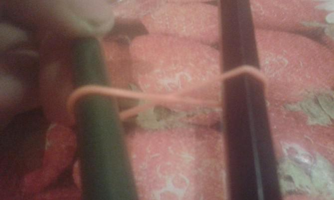 Bleistift / Stift Griff aus Loom Bands