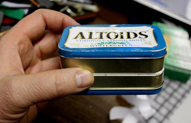 Die doppelseitige modulare Altoids Tin Überleben