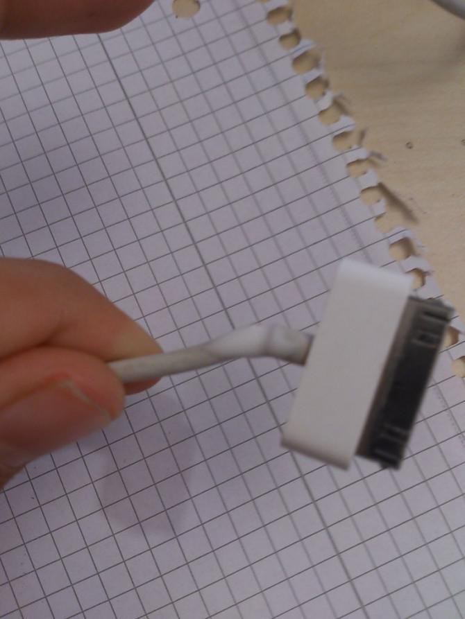 Reparatur alter iTunes Kabel