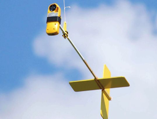 Low Altitude Umweltüberwachung mit einem Arduino basierend Wetter Instrument und Aeropod Remote Sensing Platform