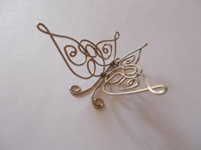 Keltischer Schmetterling Anhänger