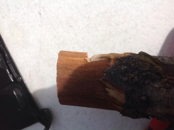 Kugel aus Holz Ohne eine Drehmaschine