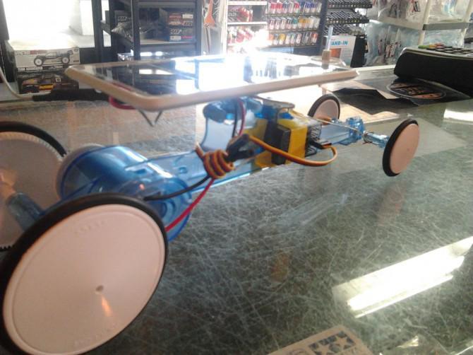 Tamiya Solar Car, R / C Steering